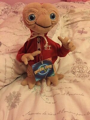 ET Soft Toy From Universal Studios. BNWT