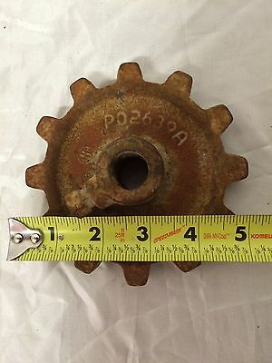 Vintage Rustic Farm Metal Gear Iron Implement cog weld tooth sun wheel primitive
