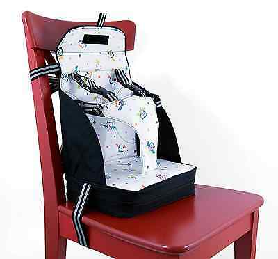 5 Point Harness Baby Feeding Booster Seat Travel Portable Toddler High Chair New