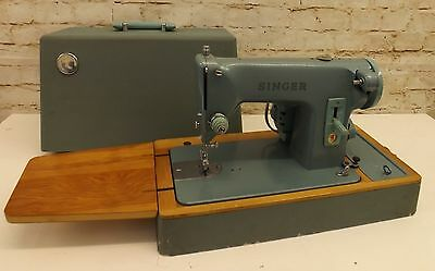 Vintage 1960s Singer 285K Heavy Duty Sewing Machine Straight Stitch Leather