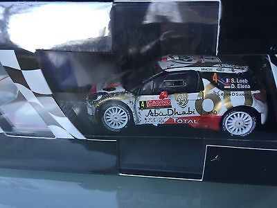 1/43 Ixo Diecast Collection Citroen Ds3 Wrc Loeb Rally Wrc Monte Carlo