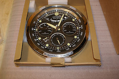Citizen ECO Drive Authorized Retailer Dealer Wall Clock NEW IN BOX RARE PROMO