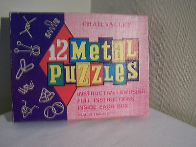 Chad Valley metal puzzles (12)