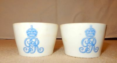 Royal Doulton 1913 George V cups