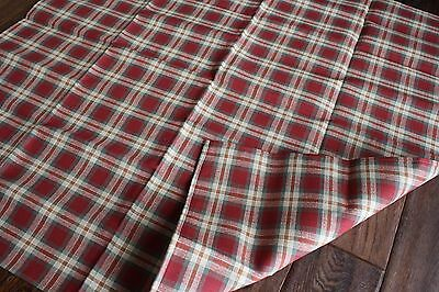 """Longaberger 36"""" square table cloth fabric accent NEW Orchard Park"""