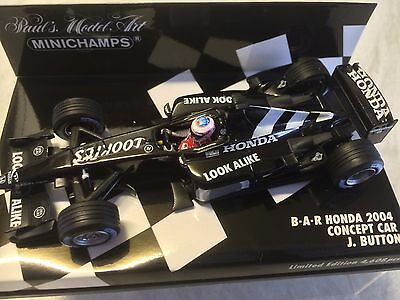 Minichamps 1:43 Jenson Button Honda B.A.R 2004 F1 Concept Car