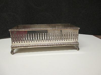Lions Head Silver Plated Biscuit Tray