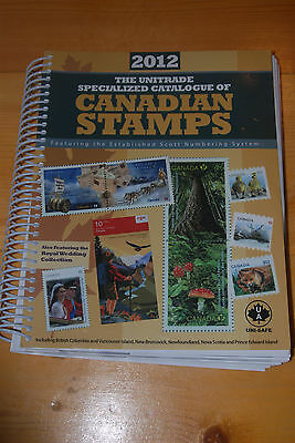 Weeda 2012 Unitrade Specialized Catalogue of Canadian Stamps, VF condition