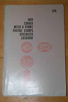 Weeda 1984 Canada Meter & Permit Postage Stamps Specialized Catalogue, F used