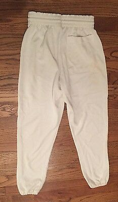 Russell Athletic Youth Boys or Girls XL X-Large White Baseball Softball Pants