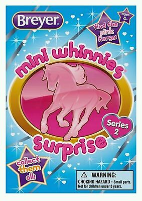 Breyer Horse Mini Whinnies Series 2 Mystery Surprise Blind Bag 300181