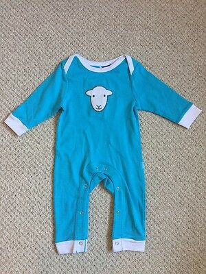 Herdy Baby grow 3-6 Months Blue