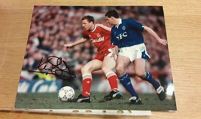 LQQK - KEVIN RATCLIFFE (EVERTON & WALES) Signed Photo 10 X 8