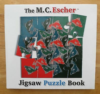 New M.C.ESCHER Jigsaw Puzzle Book 8 art puzzles in a book