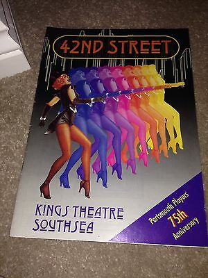 42nd street programme The Kings Theatre Southsea