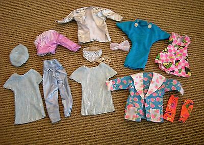 Vtg 80's JEM Doll Clothes Lot Music is Magic Stage Fashion Shana Rock Roses +