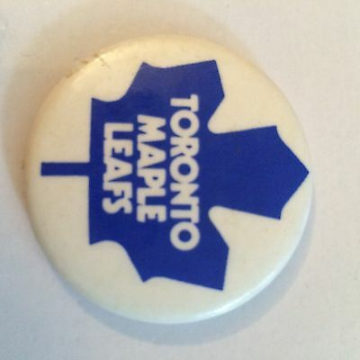 Toronto Maple Leafs Button Pin Badge (see pics) NHL Ice Hockey Canada