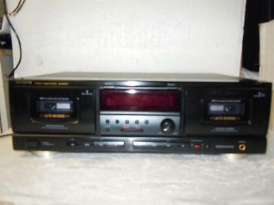Technics RS-TR232 Great Double Cassette Deck-Made in Japan-Superb Quality.