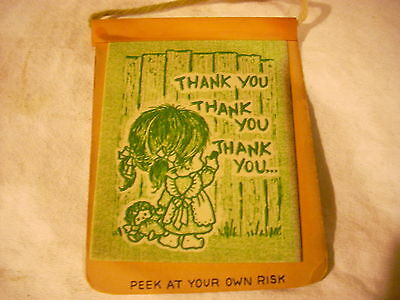 (4) Vintage Peek A Boo Cards and Envelopes-1976