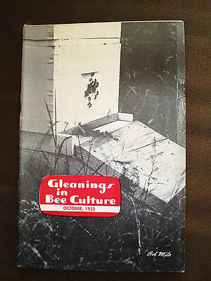 Oct 1952 Gleanings In Bee Culture (Usa Bee Keeping Magazine)