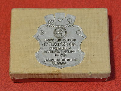Vintage 'PIATNIK' Playing cards in box