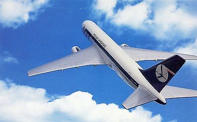 Lot Polish Airlines - Boeing 767 - Airline Issue Postcard