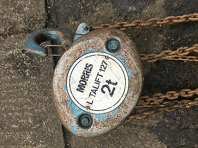 Morris 2T Block And Tackle Chain Hoist
