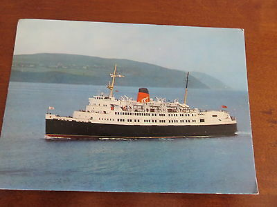 Vintage Postcard – S.S. Ben-my-Chree. Isle of Man Steam Packet Co.