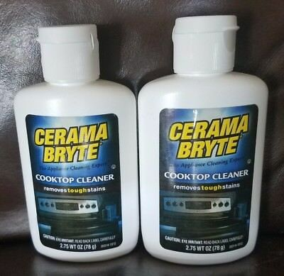 2 pack cerama bryte 275oz ceramic cooktop cleaner free shipping