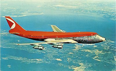 Cp Air - Boeing 747 - Postcard View