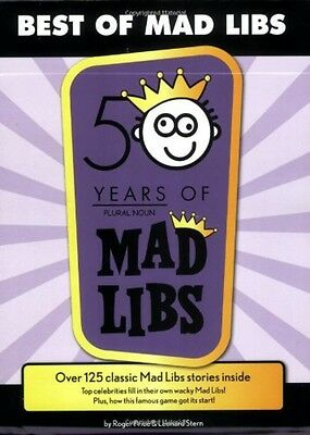 Best of Mad Libs, New, Free Shipping