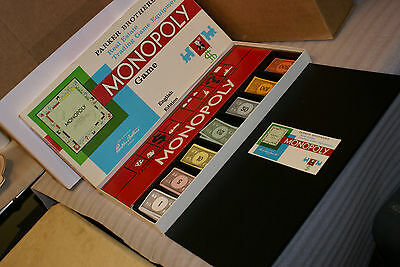 1961 Monopoly COMPLETE Parker Brothers Made in Canada English Edition