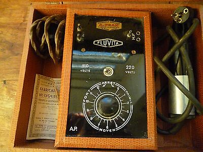 Rare Antique Ultra Violet Quack Medical Electric Therapy Kit