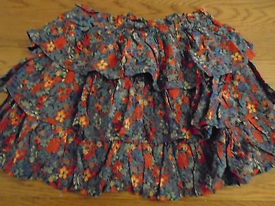 BNWT girls green floral layered rara skirt from NEXT. 13 years (16)