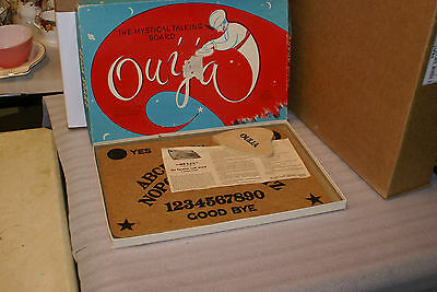 Vintage 1950s Mystical Talking Ouija Board Copp Clark Game RARE