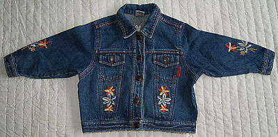 Next denim jacket for girl 2 years 92 cm