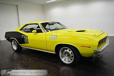 1971 Plymouth Barracuda Car 1971 Plymouth Cuda 422 Stroker Supercharged Fuel Injected