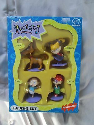 *RARE* Nickelodeon Rugrats Toy Figurine Boxed Set, 1990s, Excellent Condition