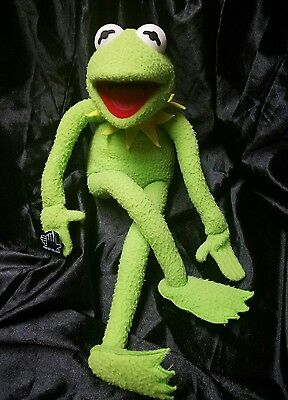 "Kermit The Frog 18"" Plush Bendable  Applause Jim Henson Muppets"