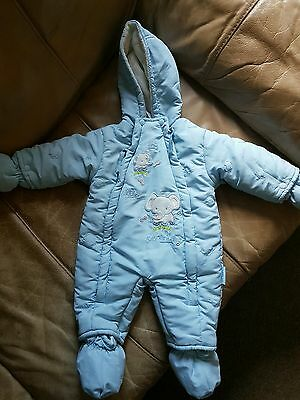 baby boy/girl snowsuit all in one 0-3 mths