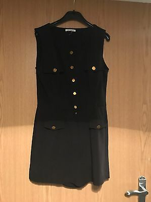 Ladies Black Play suit Size 10- River Island