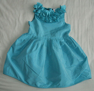 Next Signature mint blue party cocktail dress for a girl 3 years Gr. 98 cm