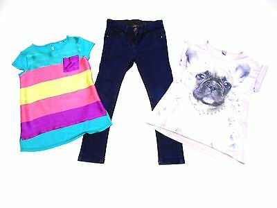 Girls Tops & Jeans Outfit Age 7 Years