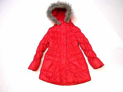 Next Red Puffa Coat Age 7-8 Years