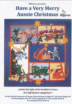 Merry Aussie Christmas Patchwork Quilt Kit by Millamac