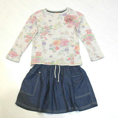 Next Girls Skirt & Sweatshirt Outfit Age 5-6 Years