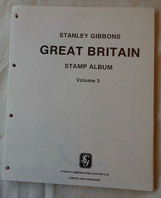 Stanley Gibbons Great Britain 1991-1996 Illustrated 4 Ring Stamp Album Leaves