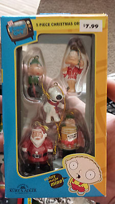 The Simpsons Christmas Ornaments - Homer, Marge, Bart, Lisa, Maggie