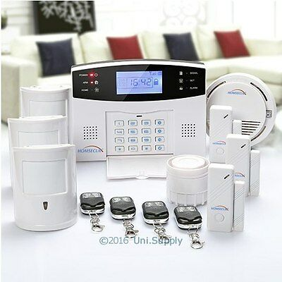 Wireless&Wired GSM Autodial Home Security Alarm System Pet Friendly Alarm System