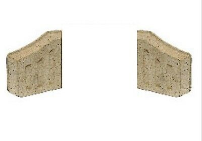 Manor Coal Saver Fire Bricks Fireplace Side Pair Only - 0063